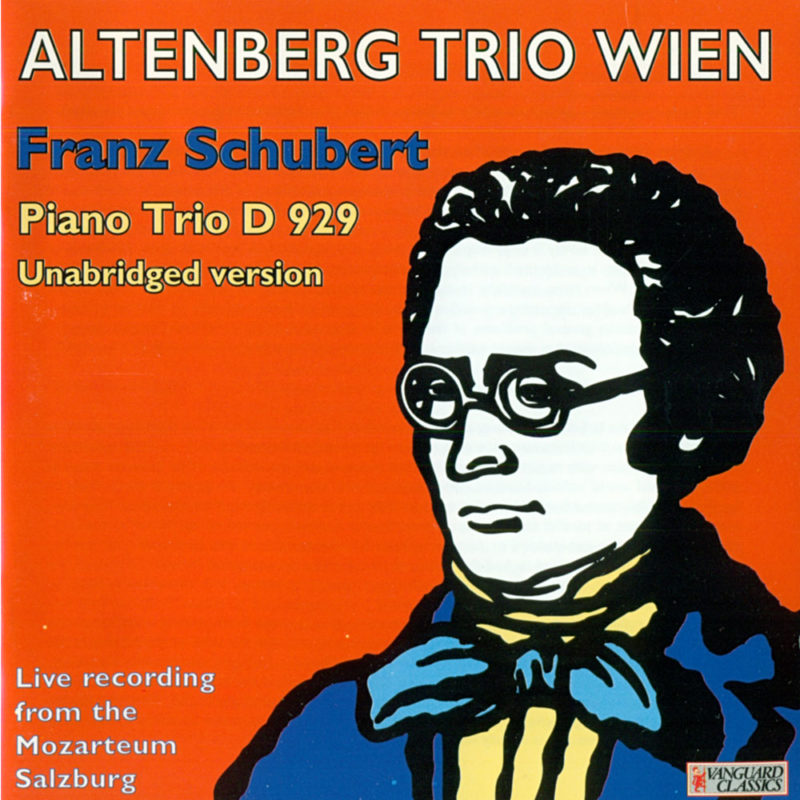 AltenbergTrio, CD Schubert cd99134