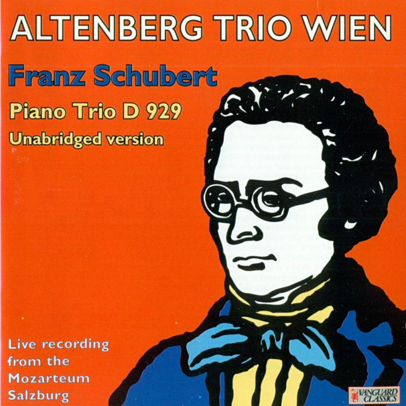 AltenbergTrio, CD Schubert cd99134