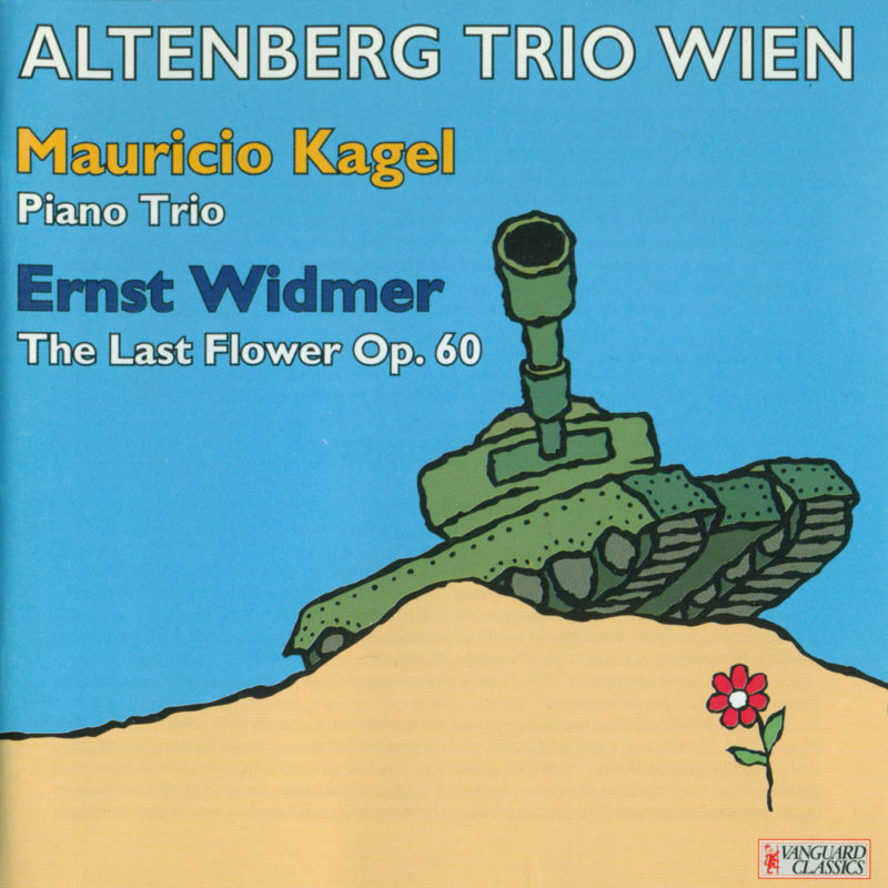 AltenbergTrio, CD Kagel Widmer cd99135