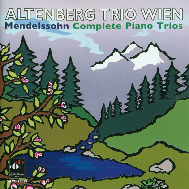 AltenbergTrio, CD Mendelssohn SACC72097