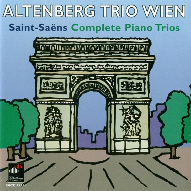 AltenbergTrio, CD Camille Saint-Saëns SACC72111